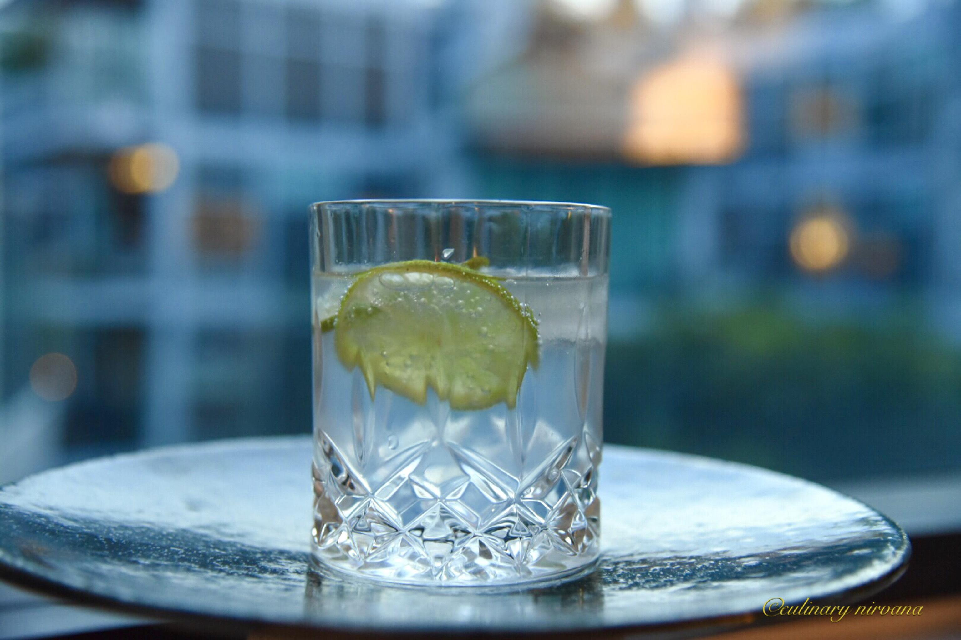 Gin- Cointreau Drink