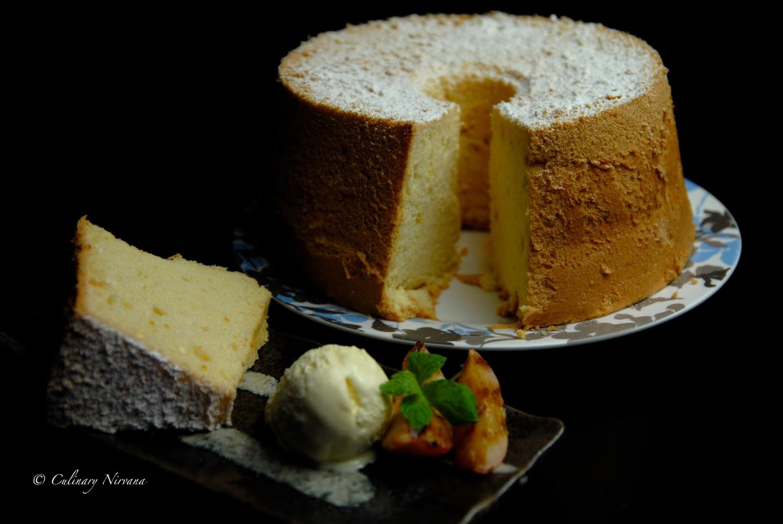 Cointreau Chiffon Cake