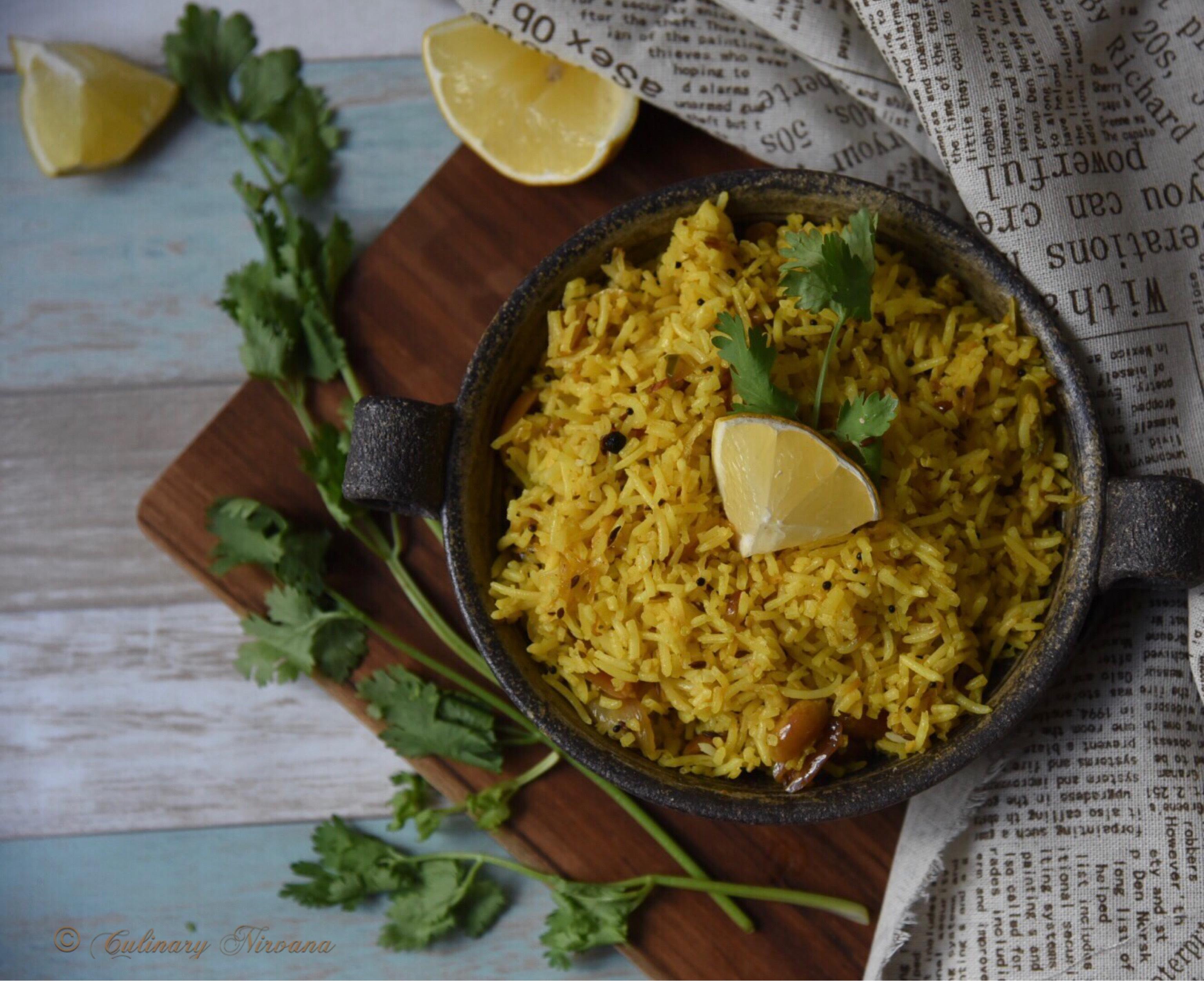 Chitrannam (Lemon Rice)