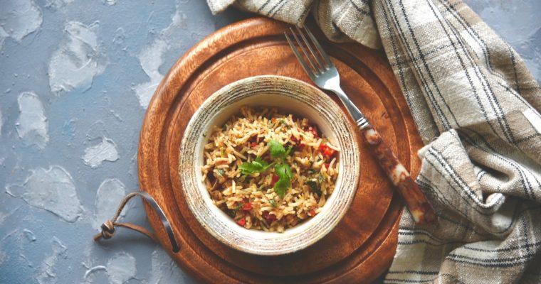 Capsicum Coriander Rice