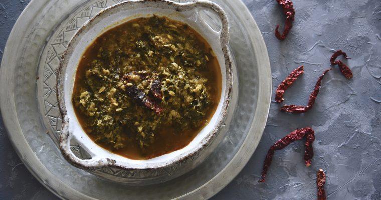 Malabar Spinach Curry