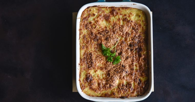 Shepherd's Pie with Indian Flavours