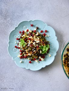 Cluster Beans Salad