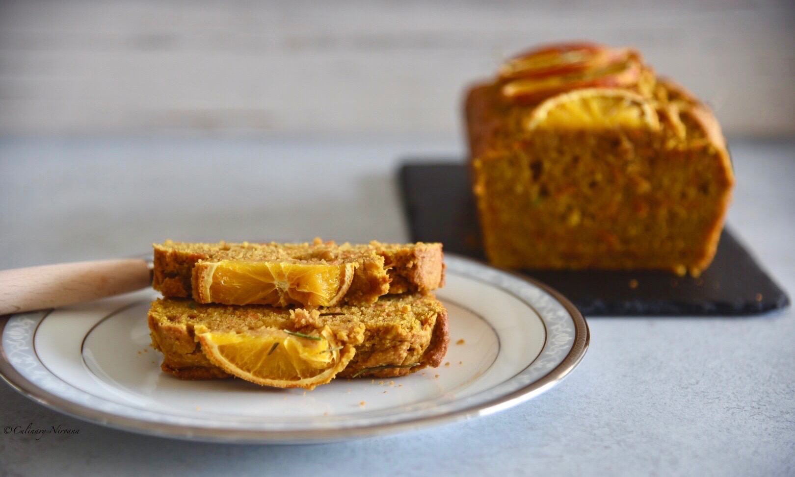 Carrot Pumpkin Bread