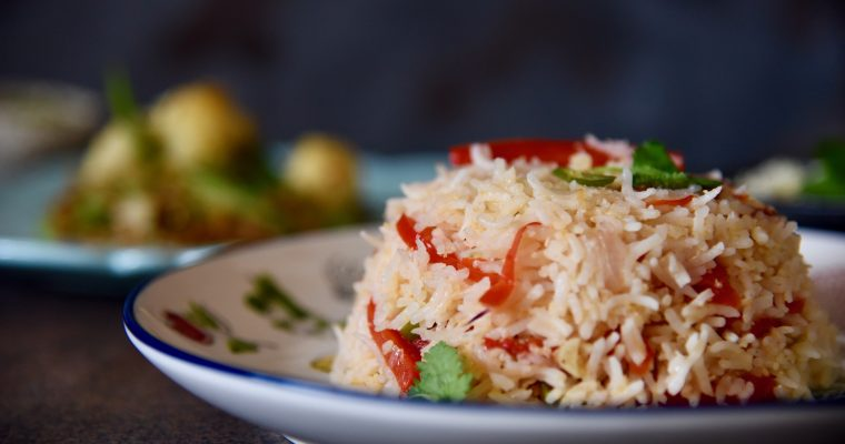 Capsicum Coconut Rice