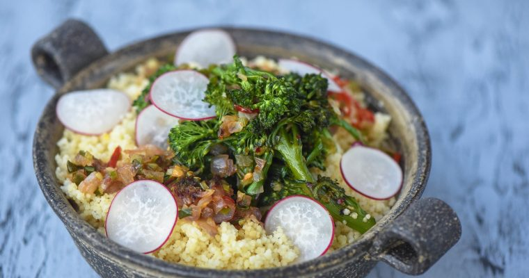 Couscous with Broccolini