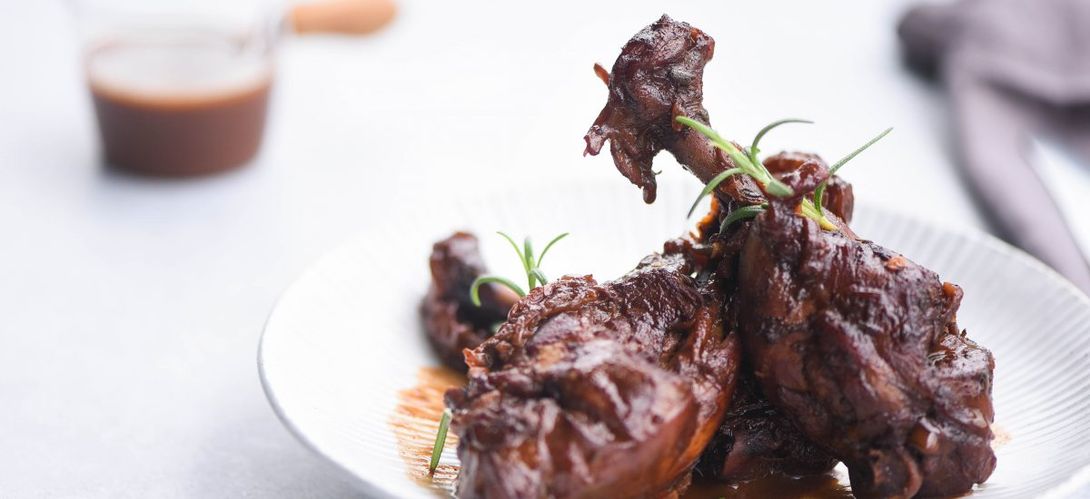 Red Wine Braised Chicken 2
