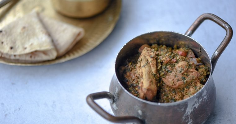 Methi Murgh (Fenugreek Chicken)