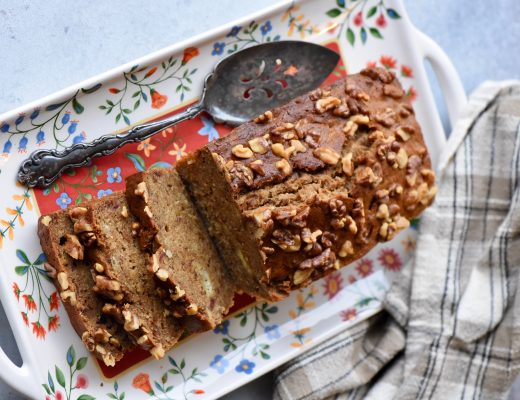 Banana, Walnut Bread