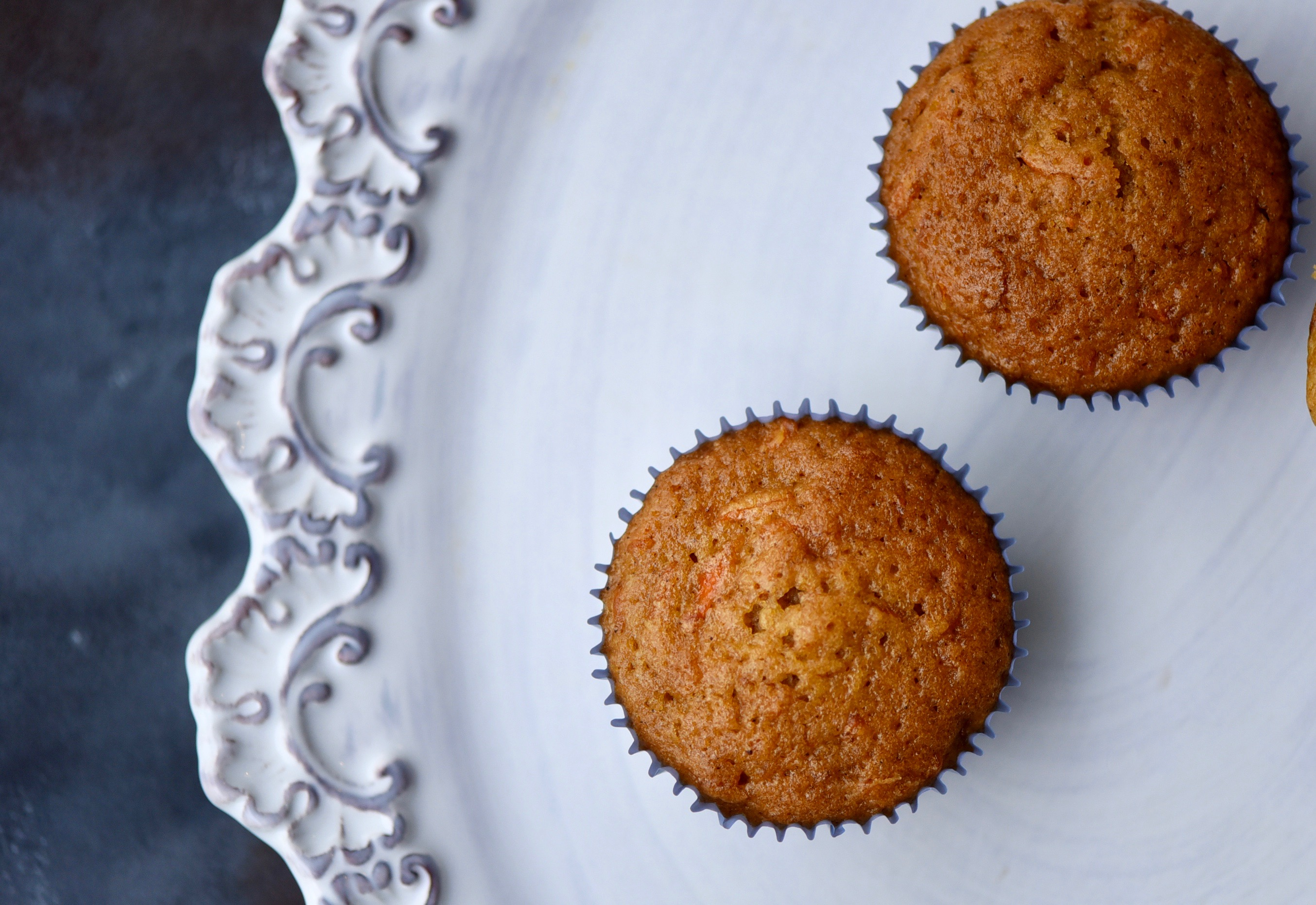 Carrot Lavender Muffins