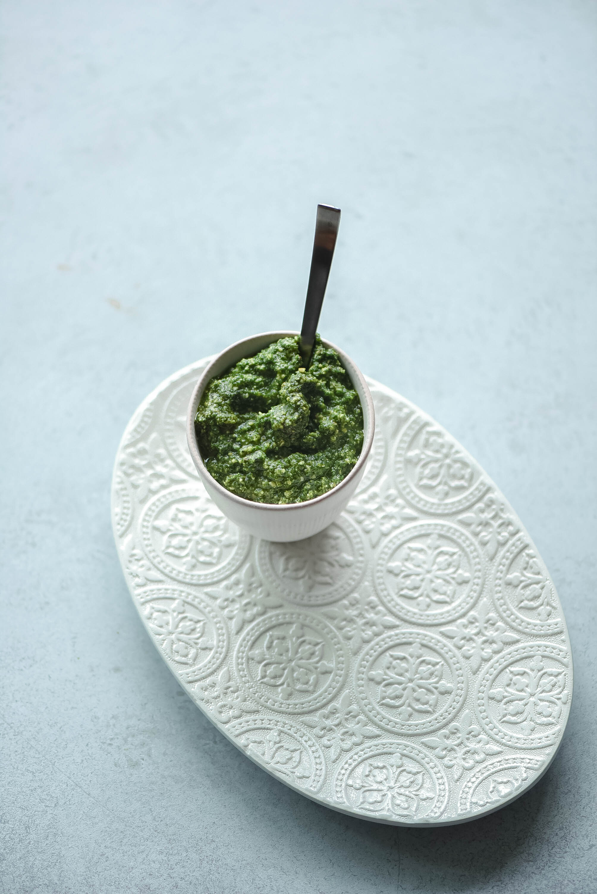 Cavolo Nero Kale and Pistachios Pesto