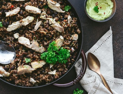 Black Bean Rice with Chicken