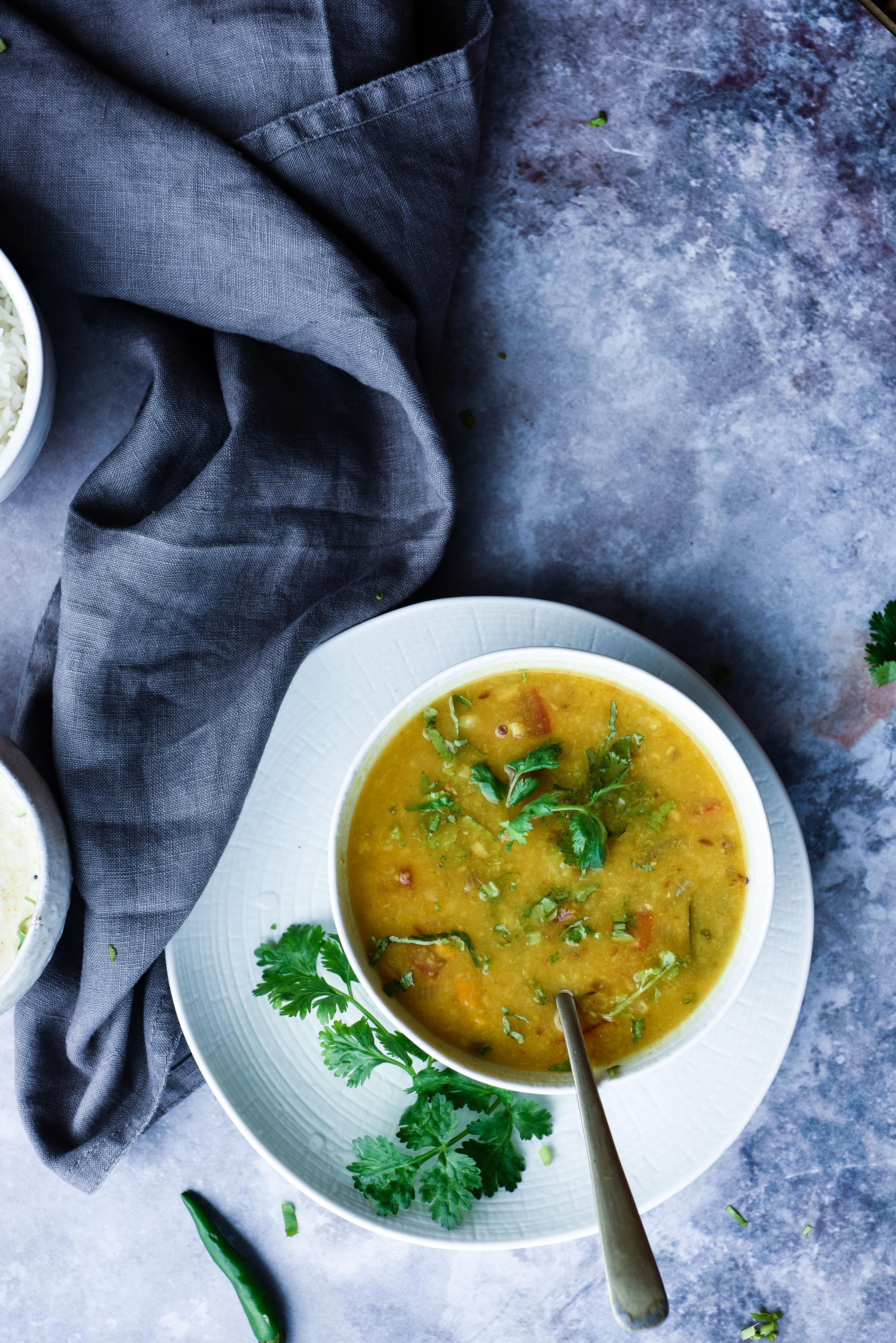 Simple Lentil Curry