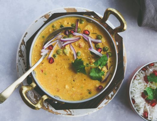 Paneer Coconut Curry