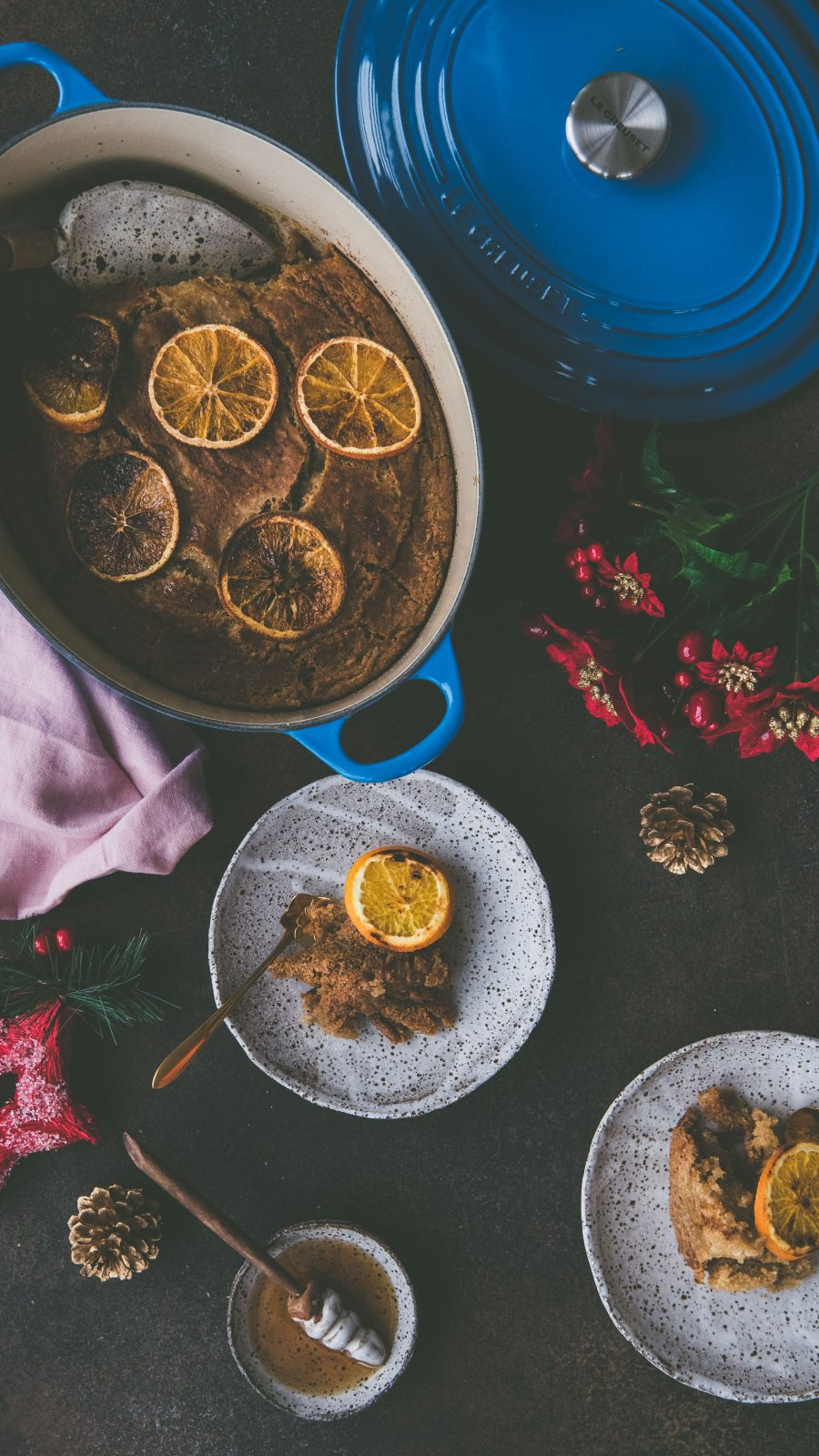 Persimmon Coconut Pudding