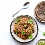 Vegetarian Keema Meatless mince