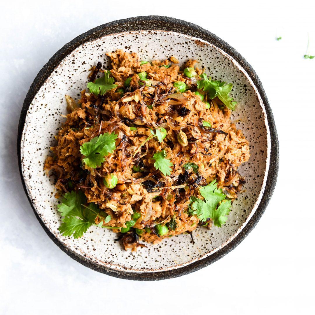 Vegetarian Keema- Meatless mince