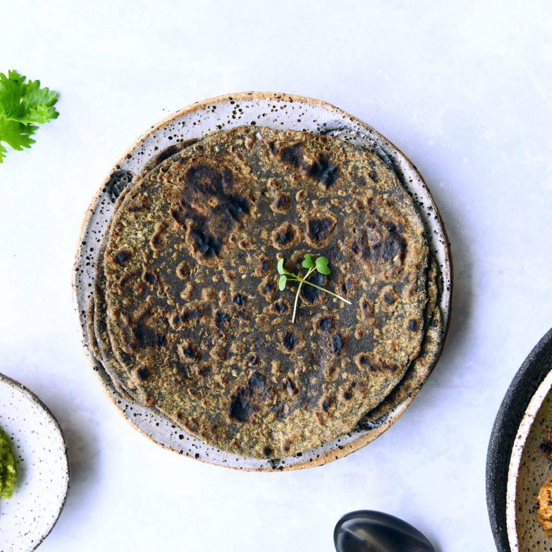 Buckwheat Avocado Paratha