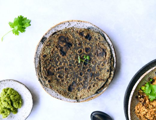 Buckwheat Avocado Paratha